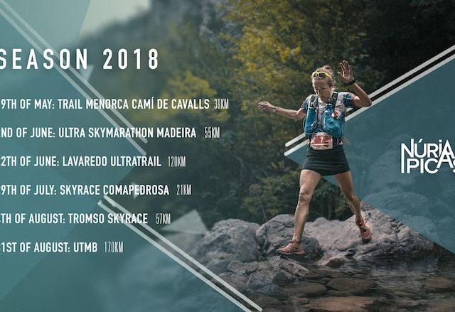 NÚRIA PICAS Temporada trail 2018 Sportvicious
