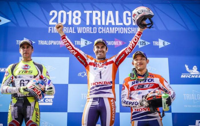Toni Bou 2018 TrialGP 2018 Sportvicious