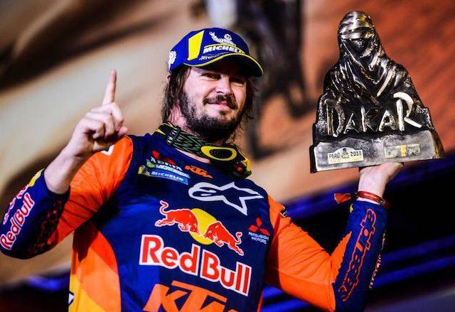 Dakar 2019 Toby Price Sportvicious