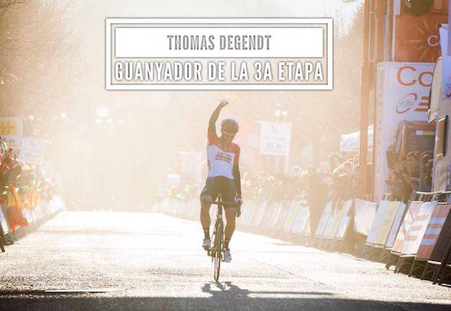 Thomas de Gendt 3ª etapa Volta a Catalunya 2018 Sportvicious