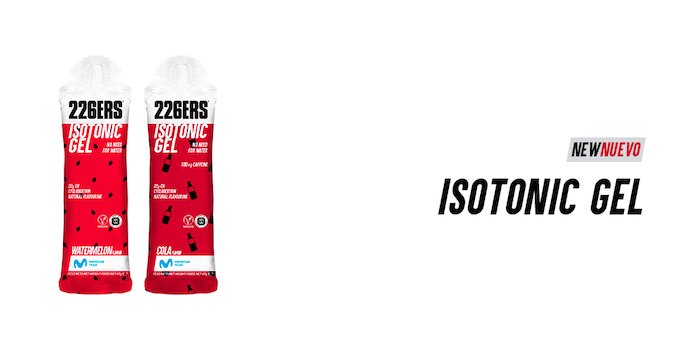 ISOTONIC GEL 226ERS www.sportvicious.com